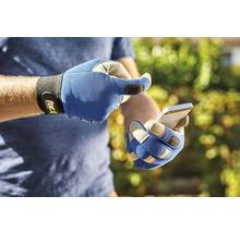 Gants de jardin for_q gardening 1 paire Taille XL, bleu-thumb-5