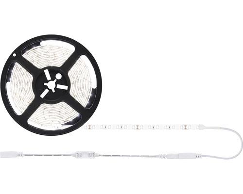 Kit de bande SimpLED prêt à l''emploi 5,0 m 50W 5500 lm 4000 K blanc neutre avec variateur à cordon 360 LED revêtu 12 V