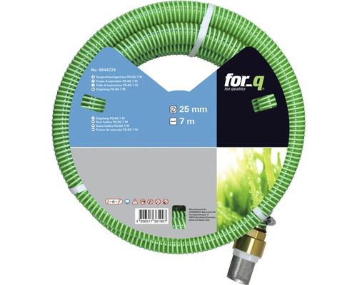 Kit tuyau d''aspiration for_q FQ-SG, 7m vert