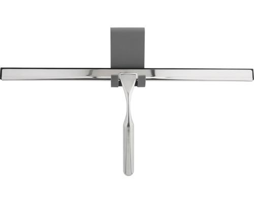 Duschkabinenabzieher form & style mit Halterung edelstahl Halter aus Silikon 40 cm