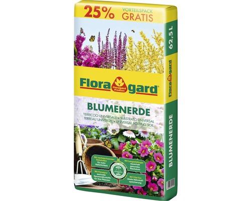 Blumenerde torfreduziert Floragard 62,5 L