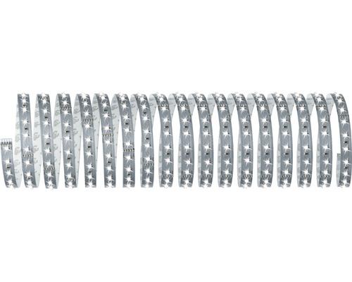 Kit de base bande Smart Home MaxLED 500 prêt à l''emploi à intensité lumineuse variable 10 m 48,5W 5500 lm 6500 K blanc naturel 720 LED contrôle via application Bluetooth 24V