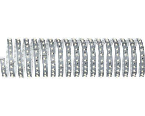 Kit de base bande Smart Home MaxLED 500 prêt à l''emploi à intensité lumineuse variable 10 m 53,5W 5500 lm 2700 K blanc chaud 720 LED contrôle via application Bluetooth 24V