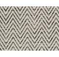Moquette tissé plat Outsider African Joy blanc-gris à motif largeur 400 cm (au mètre)