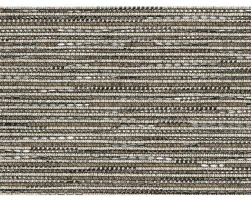 Moquette tissé plat Outsider African Mambo gris à motif largeur 400 cm (au mètre)