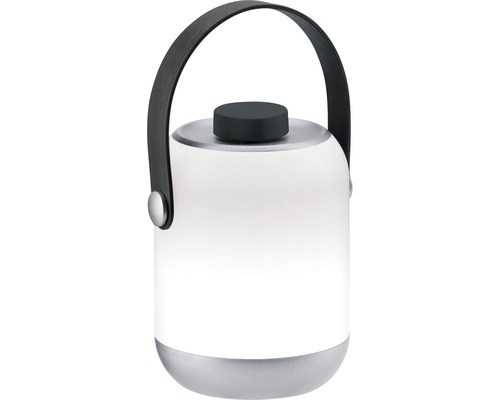 Lampe de table Outdoor Mobile IP44 à intensité lumineuse variable progressive 96 lm 3000 K blanc chaud fonctionnement sur batterie gris/blanc H 1260