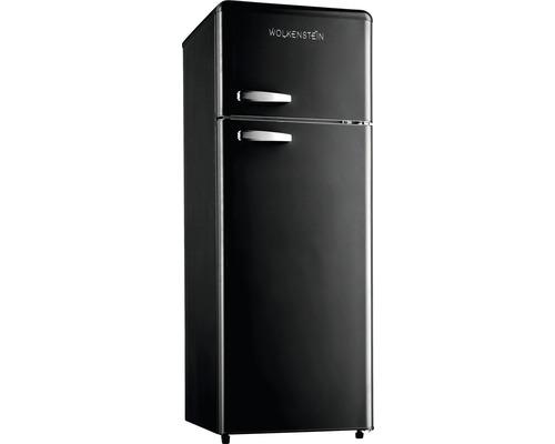 Réfrigérateur-congélateur Wolkenstein GK212.4RT B lxhxp 54.7 x 149.70 x 59.60 cm compartiment de réfrigération 172 l compartiment de congélation 39 l