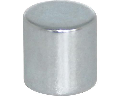 Aimant circulaire au néodyme Ø10x10mm, lot de 6