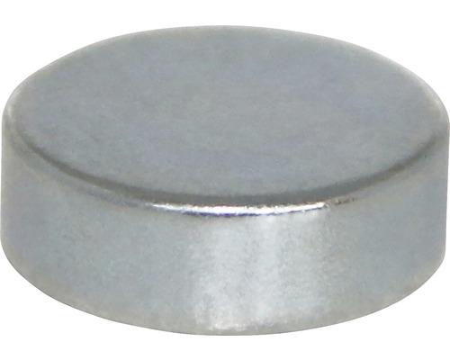 Aimant circulaire au néodyme Ø15x5mm, lot de 6