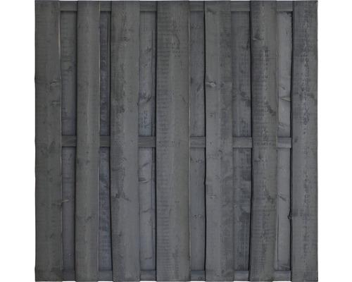Élément de clôture Montana 180 x 180 cm, gris foncé