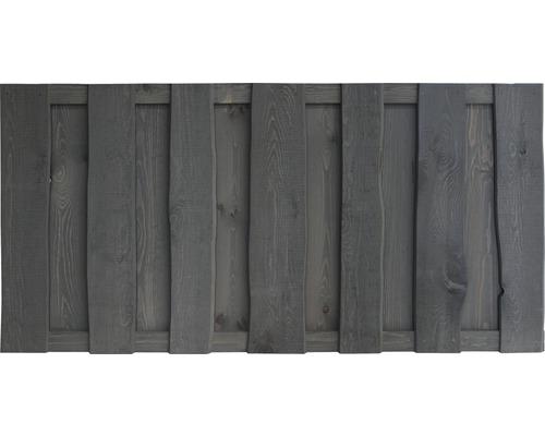 Clôture basse Montana 180 x 90 cm, gris foncé