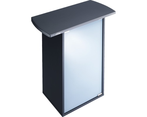 Meuble bas pour aquarium Tetra AquaArt 60 avec porte vitrée, noir