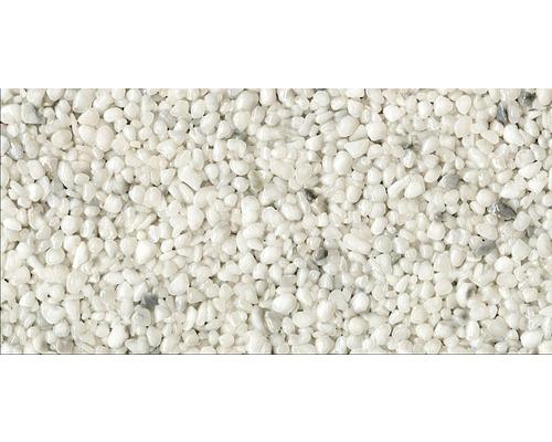 Kit de tapis de pierre 1m² Ravello moyen blanc zone intérieure - sol