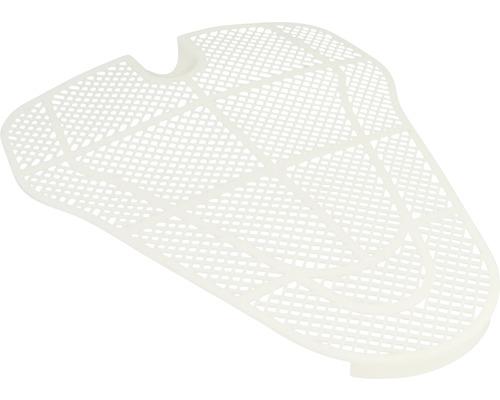 Filtre pour urinoir universel en plastique blanc sectionnable