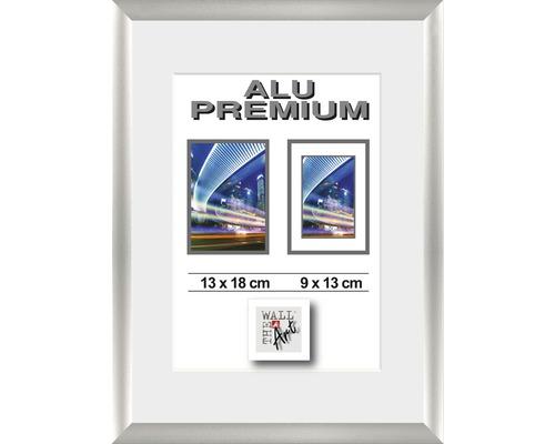Cadre Alu Duo argent 13x18 cm