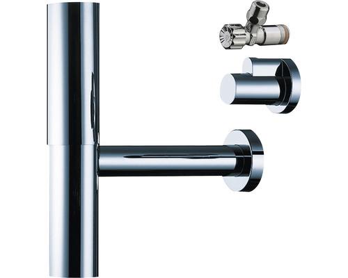 hansgrohe kit de siphon Flowstar avec 2 robinets d''équerre et étuis 52120000
