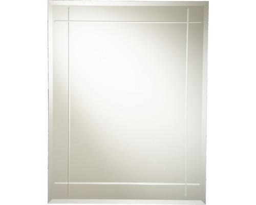 Kristallspiegel Karo 55x70 cm