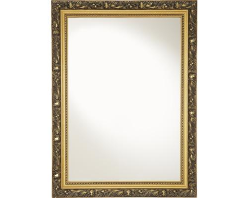 Rahmenspiegel Holz Verde 55x75 cm goldfarben