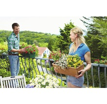 Aktiv-Balkonpflanzen- & Geranienerde Floragard 70 L-thumb-1