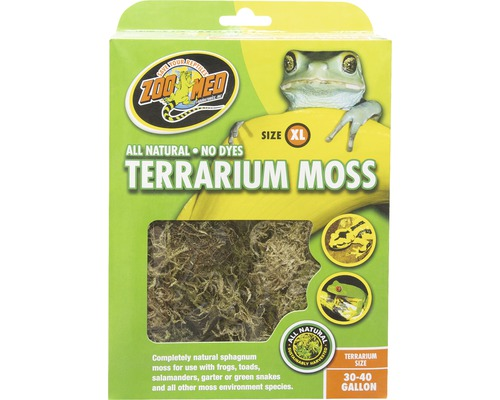 Bodengrund ZOO MED Terrarium Moss XL 3,1 l