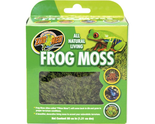 Substrat ZOO MED All Natural Frog Moss 1,31 l