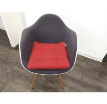 Galet de chaise Loneta rouge 42x42x6 cm-thumb-1