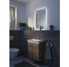 LED Badspiegelelement FACKELMANN Milano 55x80 cm 11,8 W-thumb-3