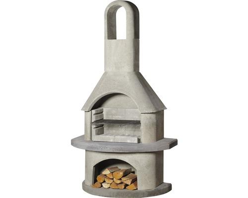 Barbecue cheminée Buschbeck Alicante 65x110x203 cm en béton