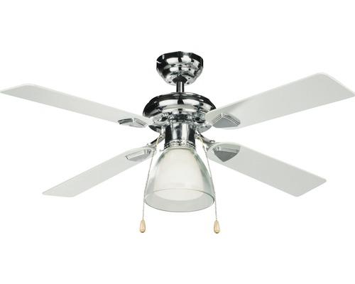 Ventilateur de plafond Madeira Calpea Ø 106 cm argent/blanc