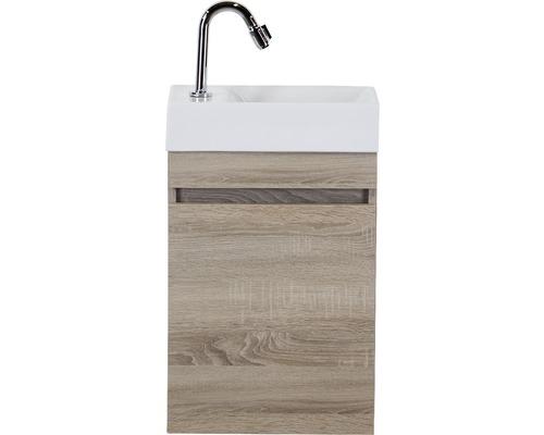 Ensemble de meubles de salle de bains Maxim chêne gris