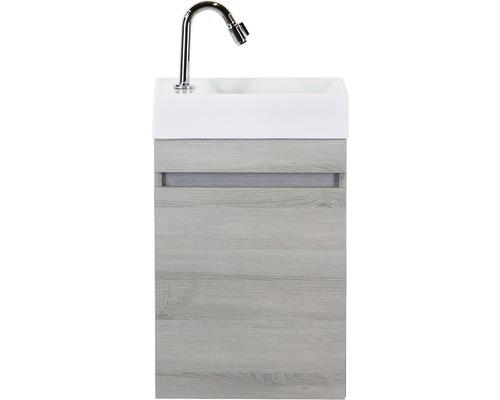 Ensemble de meubles de salle de bains Maxim frêne gris