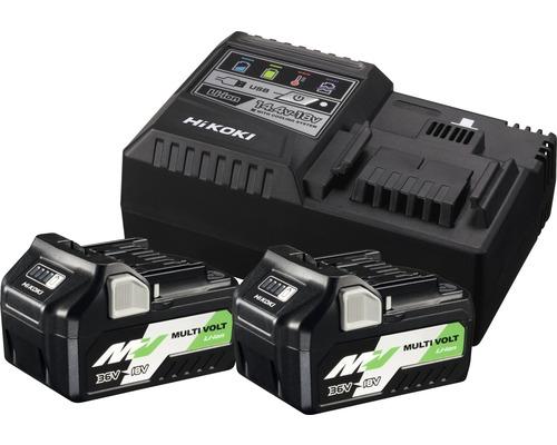 Kit de démarrage HiKOKI Booster Pack multivoltage 36/18V 2,5/5,0Ah