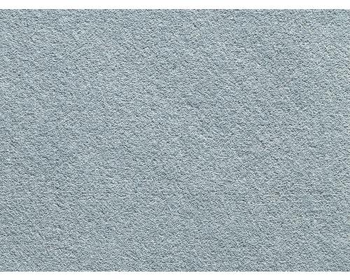 Teppichboden Saxony Grizzly ozeanblau 400 cm breit (Meterware)