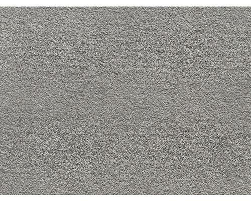 Teppichboden Saxony Grizzly dunkelgrau 400 cm breit (Meterware)