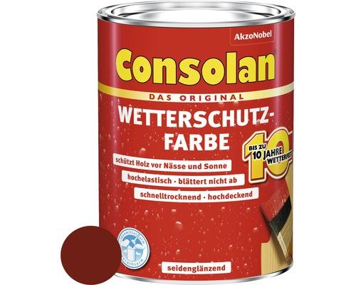 Wetterschutzfarbe schwedenrot 750 ml