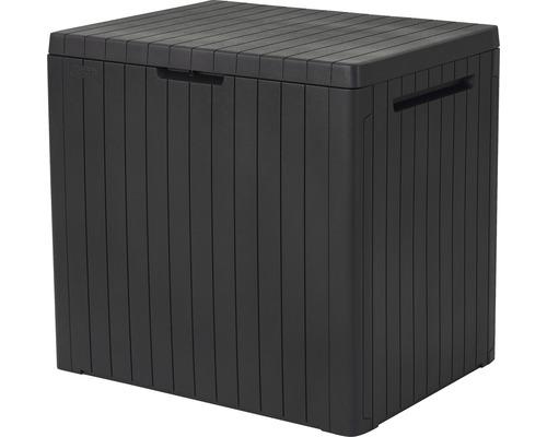 Boîte de rangement Keter Citybox 58 x 44 x55 cm anthracite
