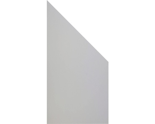 Élément d''extrémité GroJa Belfort 90xH180/90 cm gris
