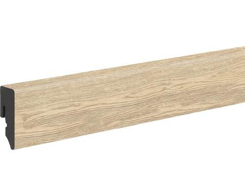 Plinthe PVC chêne gercé KU048L 15x39x2.400mm