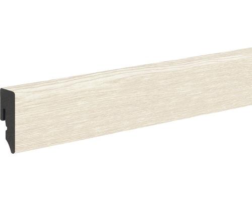 Plinthe PVC chêne crème KU048L 15x39x2.400mm