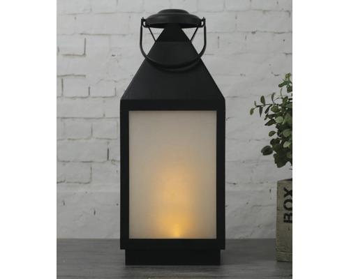 Lanterne LED Lafiora extérieur et intérieur à piles H46cm blanc chaud