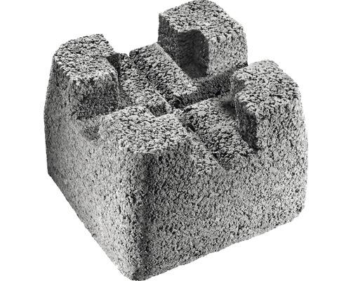 Béton pierre de fondation 22x22x17 cm