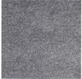 Dalle de moquette autocollante grise 40x40 cm