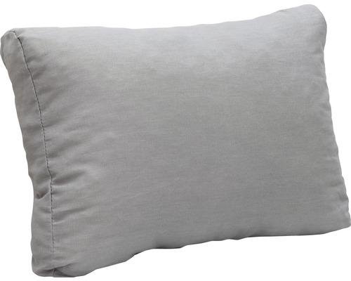 Coussin lounge 60 x 40 cm dossier gris clair