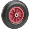 Pannensicheres Rad, bis 100 kg, m. Kunststofffelge u. Rillenprofil, 400 x 100 mm