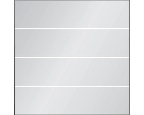 Elément principal Vidrio verre 120x120 cm, rayures