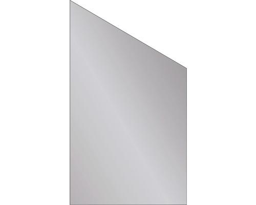 Elément de finition Vidrio verre 103x180/120 cm, gris