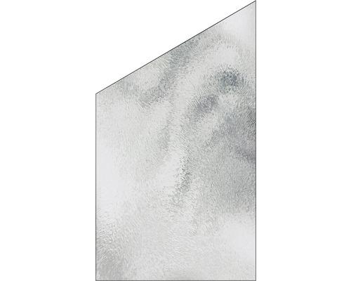Elément de finition Vidrio verre à gauche 103x180/120 cm, chinchilla