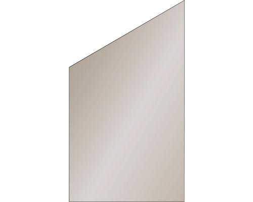 Elément de finition Vidrio verre 103x180/120 cm, bronze