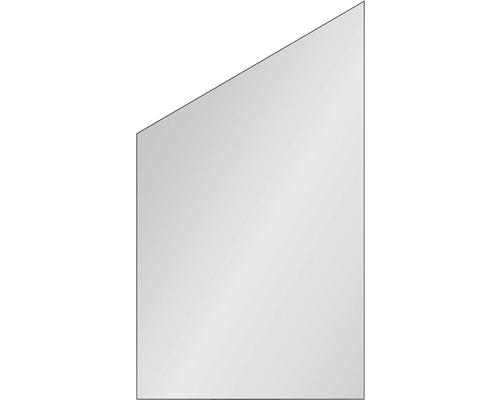 Elément de clôture Vidrio 103x180/120 cm à droite satiné