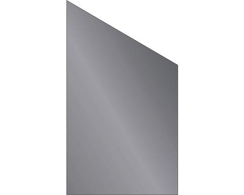 Elément de finition Vidrio verre 103x180/120 cm, anthracite